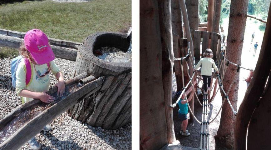 Panaraida a Santa Cristina in Val Gardena: Percorso acquatico e case sugli alberi